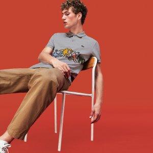 Keith Haring 合作款男士polo衫