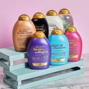 低至5.5折 €5.2收椰子牛奶洗发水OGX 美国沙龙洗护品牌 获奖无数的洗发膏居然白菜价