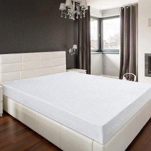 单人尺寸仅€14.9 保证床垫洁白如新Utopia 防水床罩 透气不透水 养孩子、宠物家庭必备!