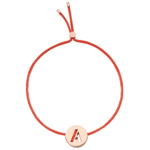 RUIFIER字母小红绳 - A