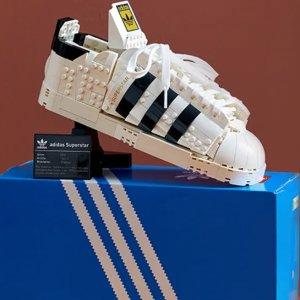 今日开售 定价€89.99 还有限定赠品!发售:LEGO X Adidas Superstar 贝壳头鞋 不是拿来穿的鞋!