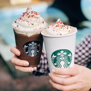 50% offStarbucks Happy Hour Handcrafted espresso beverage