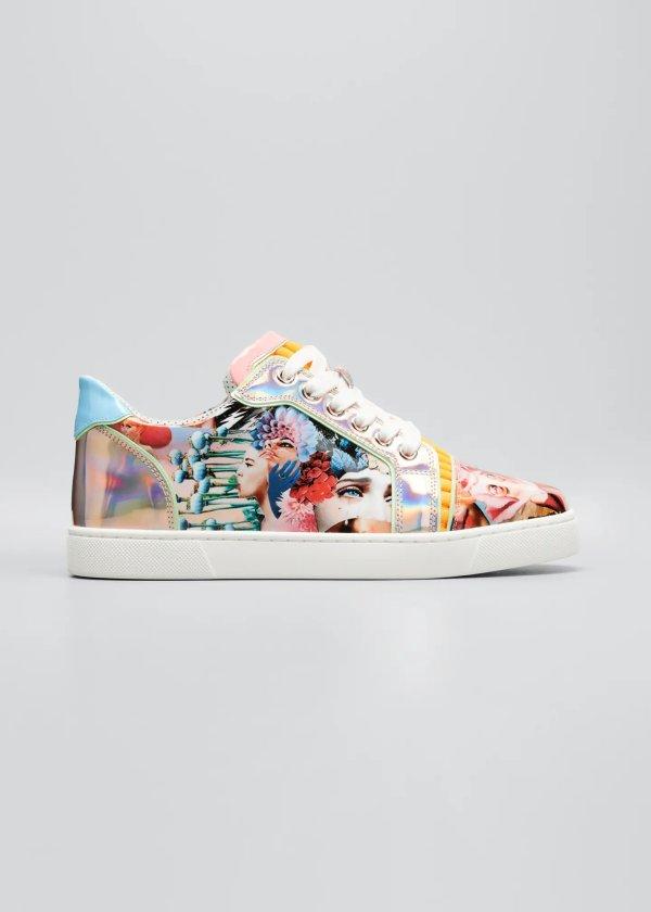 彩绘运动鞋