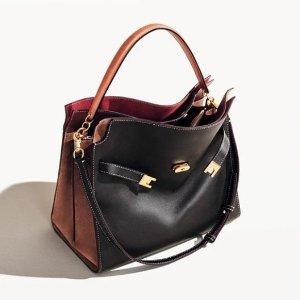 时髦实用兼备 娜扎同款Tory Burch官网 Lee系列女士包袋上新