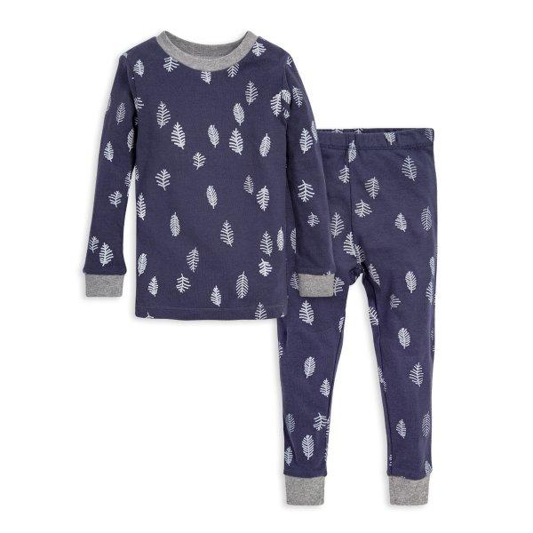 婴童有机棉分体睡衣