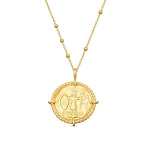 MissomaLucy Williams Rope Medallion Coin Necklace