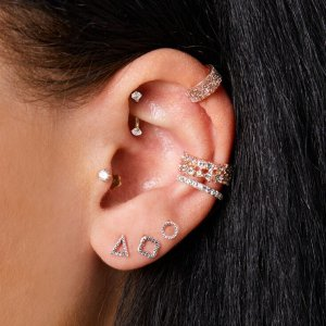 Gems & Geo Piercing Party Set
