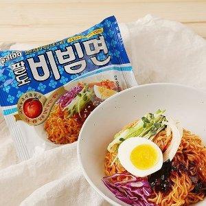 $3.29 1包仅$0.82Paldo 韩国速食干拌面 4包x130g 劲道美味不可挡