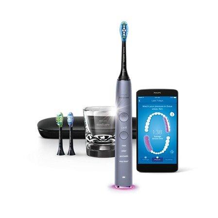 Sonicare 9300 钻石智能蓝牙电动牙刷 蓝灰色