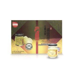 Golden Nest即食燕窝8折,需要使用折扣码DM20即食有机原味冰糖燕窝羹 75ml 6瓶