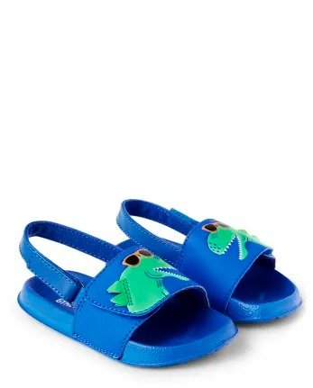 男童小恐龙凉鞋