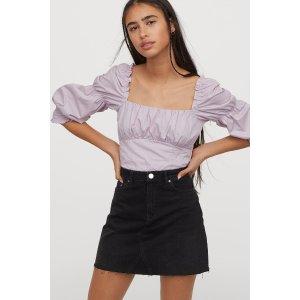 £9收超A短裙H&M 小短裙都在这 夏天到来 清爽一夏天 出去好看又舒服