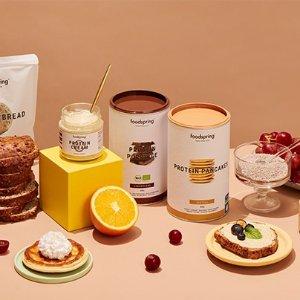 满£29.99享8.5折独家:Food Spring 专业低脂高蛋白奶昔 不会长胖的下午茶