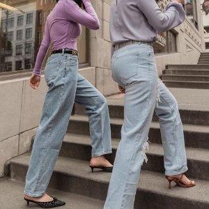 全场8.5折 时髦人必买Ssense 牛仔裤限时折扣 永不过时的经典 一百条都不嫌多