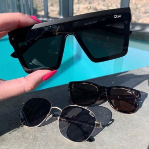 Free High Key Rimless With PurchaseQuay Full Priced Sunglasses Sale