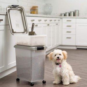 IRIS 3- Piece Airtight Pet Food Storage Container Combo