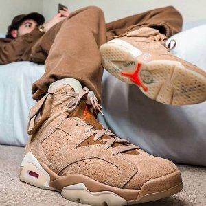 NikeJordan 6 x Travis Scott 合作款