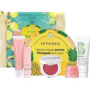$40(价值$79)+送Kiehl's护肤中样上新:Sephora Favorites 甜蜜护唇7件套 全方位呵护水嫩双唇