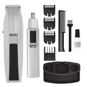 Wahl 无线电动理发器、鼻毛机套装