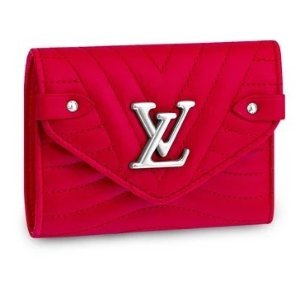 Louis Vuitton红色logo钱包