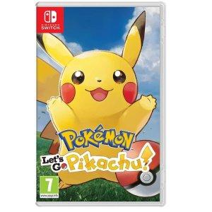 £37.99收Switch版精灵宝可梦游戏Pokemon Go 皮卡丘版罕见低价 就决定是你了 皮卡丘