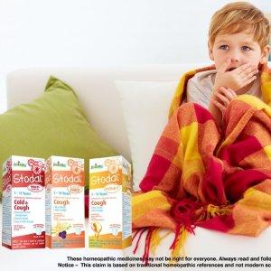 $6.23 (原价$10.29)Stodal Boiron 儿童止咳糖浆125ml  缓解感冒咳嗽等