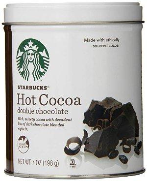 $8.99 办公室必备星巴克双重巧克力热可可  7盎司