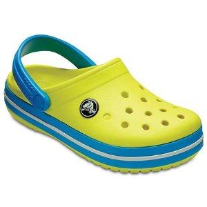 新品也参加即将截止:Crocs官网 全站童鞋低至5折+额外最高7.5折热卖