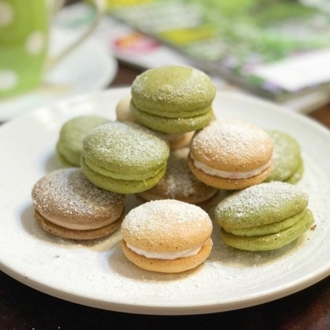 The Most Adorable Dessert in Afternoon Tea PartyEasy Recipe of 3 Flavors Homemade Bouchee Cakes