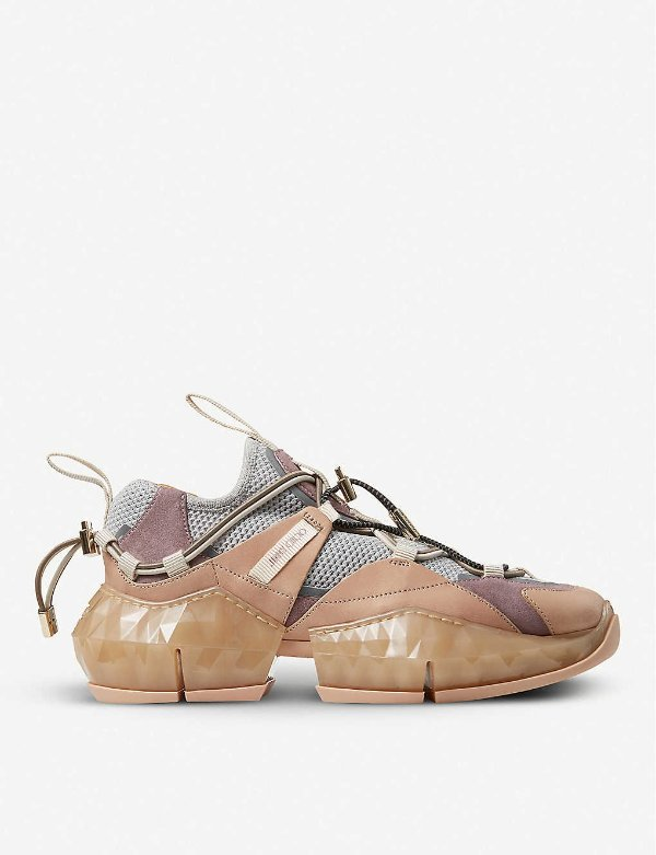 钻石底运动鞋