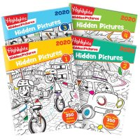 Highlights Hidden Pictures 2020 4册