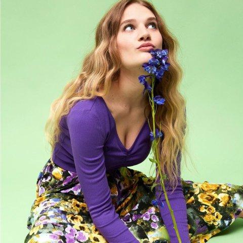 低至3折 €7.99收花边上衣Monki 春季美衣限时大促 俏皮又可爱 春日时尚美美的打开方式