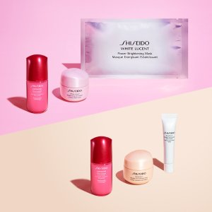 Free Gifts with PurchaseShiseido