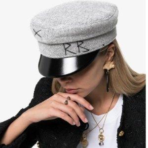 3折起  £72收RB帽子Matchesfashion 帽子专区 RB、Gucci、Prada、Burberry爆款都在线