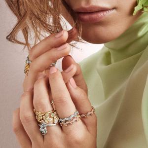 满$125赠手链  叠戴法超好看PANDORA 官网 全场戒指买赠活动