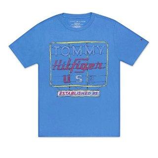 $7.08起Tommy Hilfiger 男童夏季短袖T恤特卖,100%纯棉