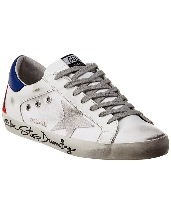 Superstar 男士小脏鞋