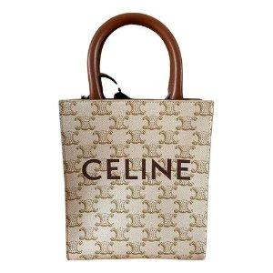 Celine老花盒子包