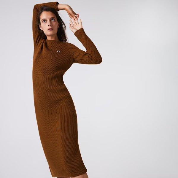 羊毛混纺毛衣裙