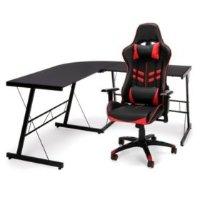 OFM 电竞游戏椅+L型桌