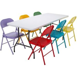 Cool Walmart Folding Chairs Sale From 12 Dealmoon Theyellowbook Wood Chair Design Ideas Theyellowbookinfo