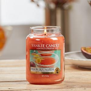 $26.2(原价$34.58)Yankee 大罐香薰蜡烛 西番莲马尔蒂尼 治愈系日常