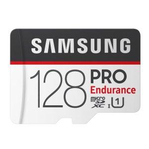 $17.99 下单锁价Samsung PRO Endurance 128GB MicroSDHC 高耐久存储卡