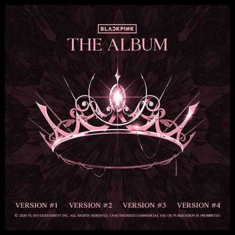 blink们快冲 €15.99起收BLACKPINK 粉墨全新专辑 The Album 四种Version 多国可邮寄