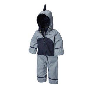 $23.65包邮Columbia 婴儿冬季防风三合一连体外套 四色可选
