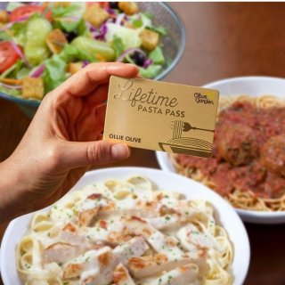 $100 吃9周霸王餐 8/15准备开抢Olive Garden 意面畅吃通行证 100刀吃9周