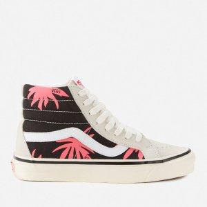 Vans花卉高帮滑板鞋