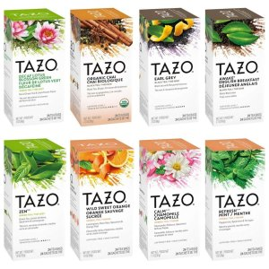 6.3折 $18.03/120包限今天:Tazo 泰舒茶美味的茶你品尝了嘛? 星巴克御用茶饮