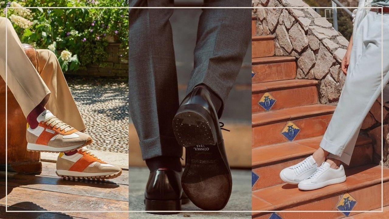男生穿搭   一双鞋彰显衣品质的飞跃