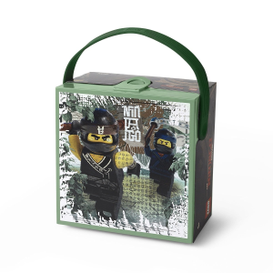 LEGO Ninjago Movie Lunchbox with Handle, Sand Green